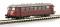 Brekina 69100 MAN Schienenbus in 1:160, rot SWEG VT 23 (Maßstab 1:160), TD