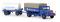 Brekina 72211 MAN F 8 PP mit Anhänger und Gastank Westfalen Gas