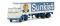 Brekina 85269 DAF FT 2600 Koffer-SZ Sunkist  (NL)