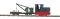 Busch 12118 Feldbahn-Kranzug H0f