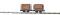 Busch 12203 2 Ziegeltransportwagen     H0f