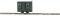 Busch 12231 Bauwagen Grün              H0f