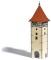 Busch 1596 Torturm H0