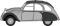 Busch 200124394 Citroen 2CV Charleston