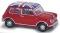 Busch 200692370 Austin Mini rot N