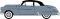 Busch 201124202 Oldsmobile Rocket blau/schwa