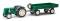 Busch 210007000 Famulus mit Anhänger Grün H0