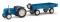 Busch 210007100 Traktor Famulus m.Anhäng.bla