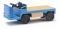 Busch 210010008 E-Karre Balkancar, Blau H0