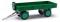 Busch 210010208 Anhänger T4 grün+gelbe Felge