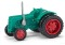 Busch 211005800 Traktor Famulus Zwill.grün T