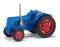 Busch 211006801 Traktor Famulus blau TT