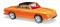 Busch 45807 Karmann Ghia 1600 Orange