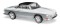 Busch 45815 Karmann Ghia 1600 Silber