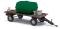 Busch 59945 Anhänger mit Wassertank/Zink
