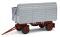 Busch 95025 HW 80 SHA grau,rotes Fahrges