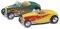 Busch 9838597 Ford Hot Rod Road. Gelb/Grün
