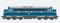 ESU 30222 Diesellok, Pullman I, Nohab MY, NEG V 170 1127, Ep V,  blau/silber, Vorbildzustand um 2000, LokSound, Raucherzeuger