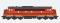ESU 30224 Diesellok, Pullman I,Nohab MY, DSB MY 1104 , Ep III/IV, braun, Vorbildzustand um 1970, LokSound, Raucherzeuger