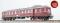 ESU 31042 Dieseltriebwagen, H0, VT62 904, altrot, EP III, Vorbildzustand um 1951, LokSound, Raucherzeuger, DC