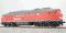 ESU 31162 Diesellok, H0, 232 303, DB Cargo Ep V, verkehrsrot, Vorbildzustand um 2000, LokSound, Raucherzeuger, DC/AC