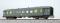 ESU 36041 Gesellschaftswagen, H0, WGye831 11-591, DB, ozeanblau-beige, Ep IV, mit Sound und Lichteffekt