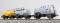 ESU 36218 Kesselwagen 3er-Set, H0, Deutz, VTG 070 5 149, Grau