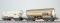 ESU 36523 Gas-Kesselwagen Set, H0, ZAG 620, EVA 21 80 076 9 467-0 + BASF 21 80 006 5 009-1, DB, Ep. IV, Vorbildzustand um 1972, weiß, DC