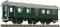 Fleischmann 509703 Umbauwagen 3a. 1./2.Kl. DB