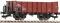 Fleischmann 521902 offener Güterwagen Vtu CSD