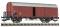 Fleischmann 593902 Ged. Güterwagen Gl11