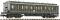 Fleischmann 804601 Abteilwagen 4a. 3.Kl.+Schlusbel.