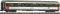 Fleischmann 814481 Eurofima-Reisezugwagen 1. Kl., SNCF, Ep V-VI, Corail-Ausführung