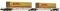 Fleischmann 825332 Doppeltragwagen DHL der AAE