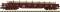Fleischmann 828810 Rungenwagen Res beladen mit