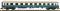 Fleischmann 864103 Schnellzugwagen 1.Kl. Bauart