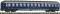 """Fleischmann 890904 Liegewagen 2. Kl., DB, Ep III-IV, """"TOUROPA"""" , 2. Betr.- Nr."""