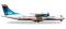 Herpa 527262 ATR-72-500 Arkia Israel Airlines