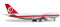 Herpa 529679 Boeing 747-400 Malaysia Airlines - Retrojet