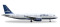Herpa 530361 Airbus A320 JetBlue Airways Tartan tail design