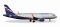 Herpa 530644 Airbus A320 Aeroflot