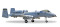 Herpa 558433 Fairchild A-10C Thunderbolt II USAF Indiana ANG - 163rd FS Blacksnakes