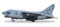 Herpa 580175 Vought A-7E Corsair II U.S. Navy VA-46 Clansmen
