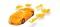 Herpa 80657061 3D Lamborghini transp. gelb
