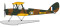Herpa 8172TM010 DH82A Tiger Moth Floatplane RAF L-5894