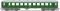 Liliput 334544 $ $ Schnellzugwagen 2.Kl. B4ümp 241-215 DR Ep.III