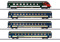 Märklin 42175 Personenwagen-Set, 4 x EW IV, BLS, Ep. V