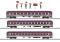 Märklin 43947 Fanzug-Wagenset Euro Express
