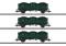Märklin 46029 Güterwagen-Set, 3 O-Wagen, SNCB, Ep.IIIa