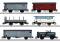 Märklin 46520 Güterwagen-Set zum Köfferli, 6 Wag.,SBB,II